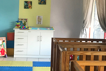 Baby Room<br>From 8 Weeks Up To 15 Months
